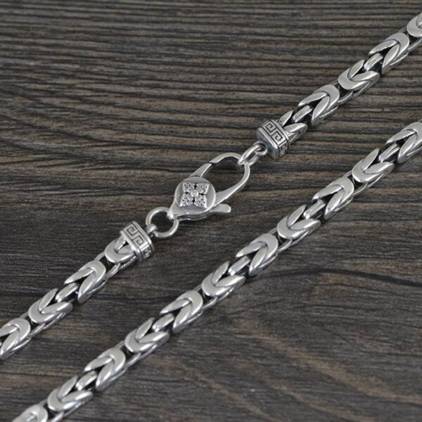 Squared Byzantine Necklace