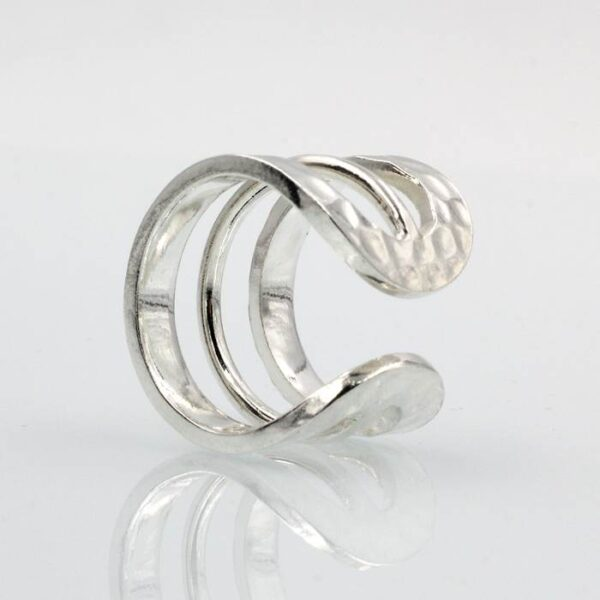 Three-Layer Hammered Ring