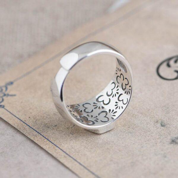 Cross Fleur De Lis Ring