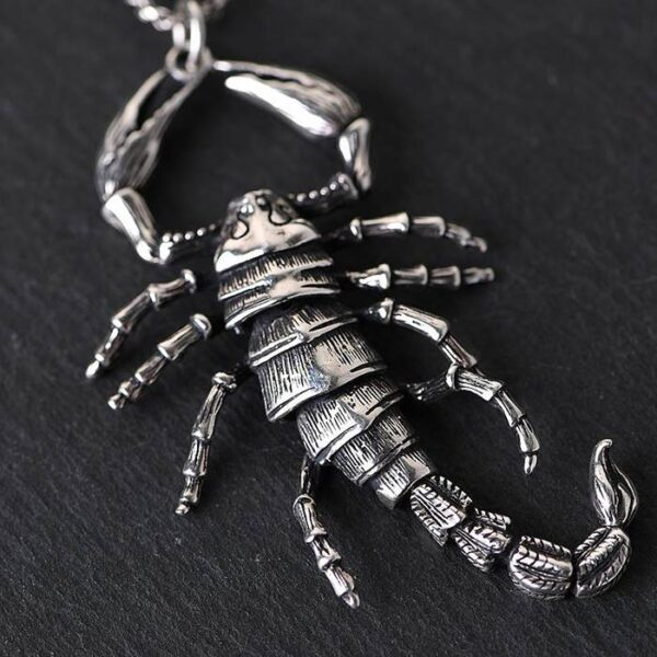Scorpion Pendant Necklace
