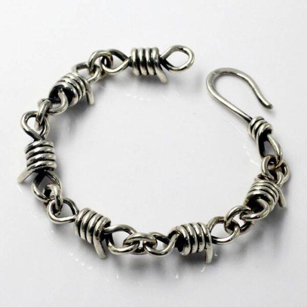 Silver Infinite Link Bracelet