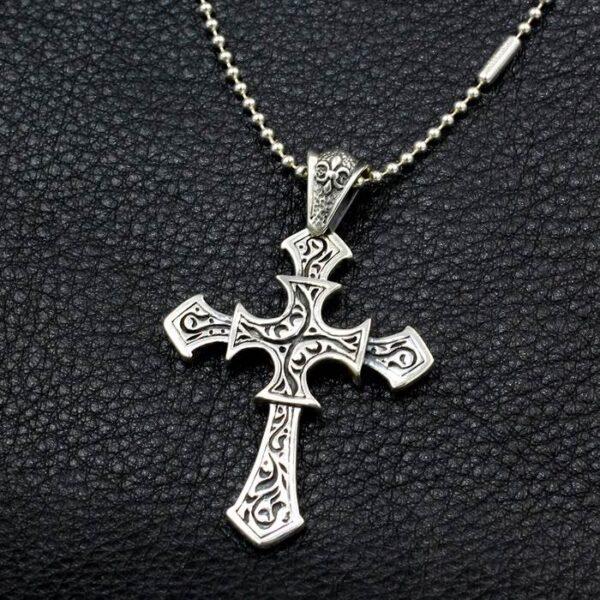 Big Cross Pendant Necklace