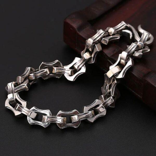 Chunky Link Chain Biker Bracelet