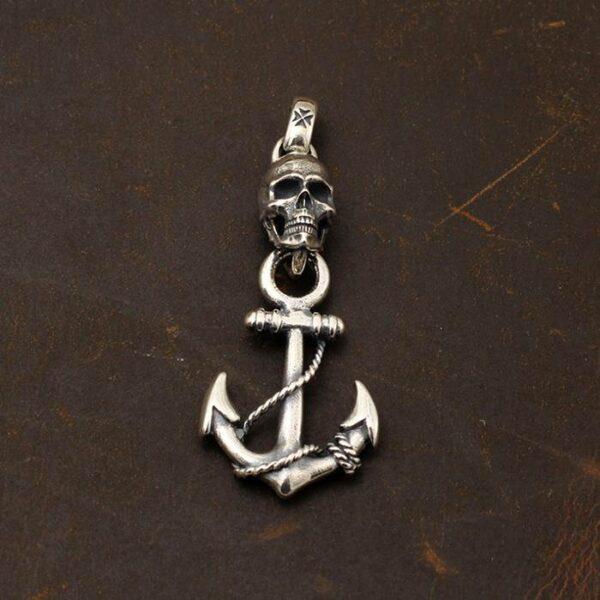 Skull Anchor Pendant