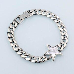 Star Silver Bracelet