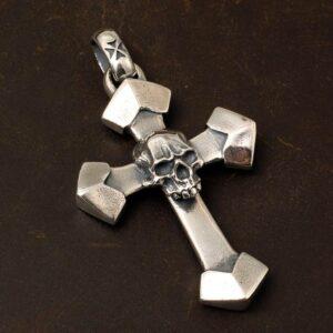 Cross & Skull Pendant