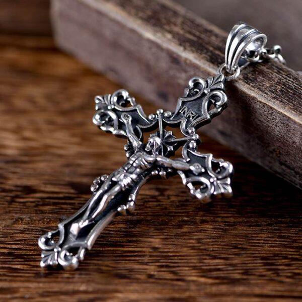 Crucifix Pendant Necklace