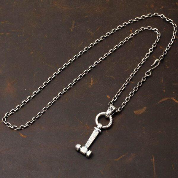 Hammer Pendant Necklace