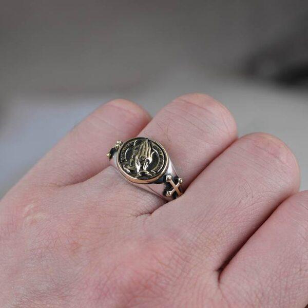 Praying Hands Ring
